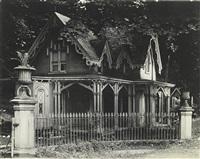 gothic gate cottage near poughkeepsie, new york by walker evans