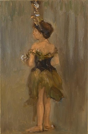 dancing girl by ansel krut
