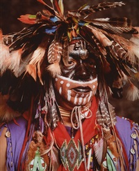 american indians, jack rainmaker by andres serrano