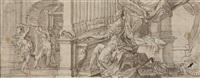 die heilige cäcilia an der orgel by johann anwander
