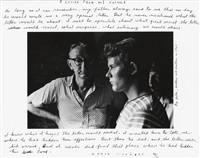 a letter from my father by duane michals
