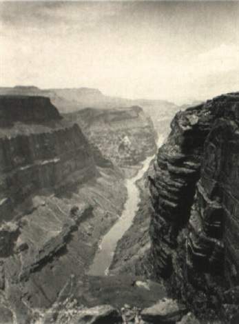 grand canyon of the colorodo river looking west by john k hillers