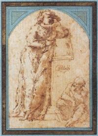 vierge à l'enfant avec saint joseph by domenico beccafumi