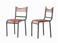 sandow chairs (pair) by rené herbst