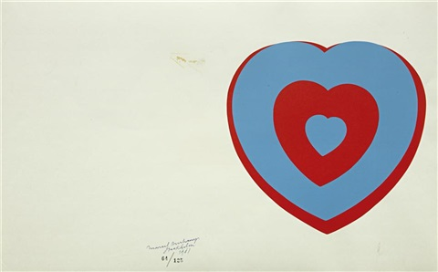 coeurs volants fluttering hearts by marcel duchamp