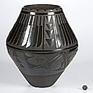 san ildefonso jar by carmelita dunlap