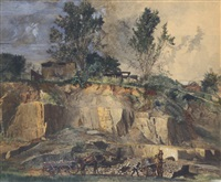 stone quarry by charles lewis fussell