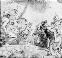 the adoration of the shepherds by fabrizio boschi