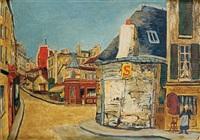 l'hôtel de la tourelle, rue du mont-cenis, paris by élisée maclet