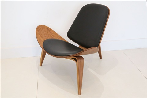 A Ch07 Shell Chair, Designed By Hans Wegner, Manufactured By Carl Hansen U0026  Son