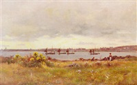 view accross an estuary by james alfred aitken