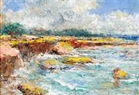 rocky shore by oumbertos argyros