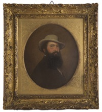 portrait of fedor moller by feodor antonovich moller