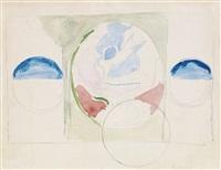 abstract study by joseph stella