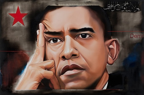 obama in delhi by riyas komu