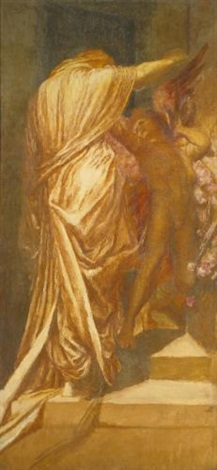 study for love and death by george frederick watts