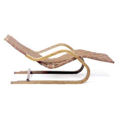Chaise Longue Model No 39 By Alvar Aalto On Artnet
