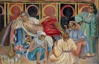 scène de harem à marrakech by béatrice appia-dabit