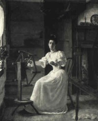 reeling yarn by edgar melville ward