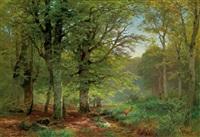 im buchenwald by heinrich böhmer