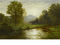 summer glow by william trost richards