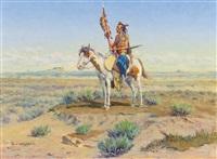 indian on horseback by olaf c. seltzer