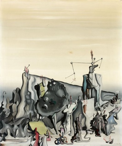sans titre by yves tanguy