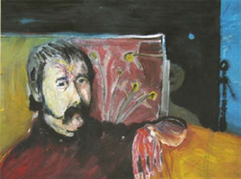 portrait of the artist patrick graham by brian maguire