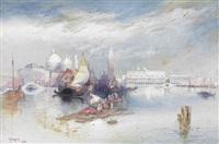 grand canal by thomas moran