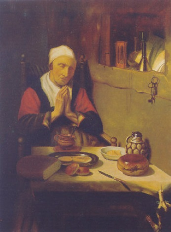 grace before meat by petrus johannes m piet cottaar