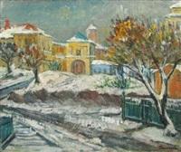 winter in old bucuresti by marius bunescu