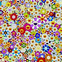 flowers in heaven by takashi murakami