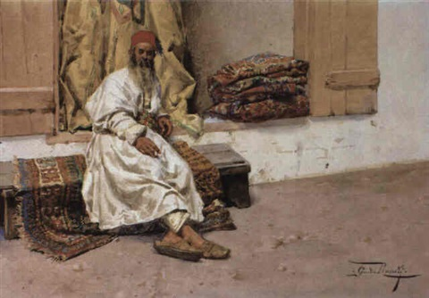Attractive The Rug Merchant By Giulio Rosati