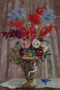 still life flowers by adelio zeelie (zagnie)