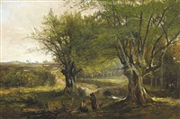 lagan brook, county louth by henry allan