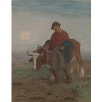 returning from the fields by horatio walker