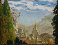 the city of baden-baden by rudolf hellwag