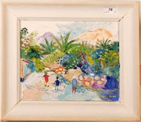 eze-sur-mer, nice by fred yates
