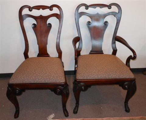 Anglesly Dining Chairs Set Of 10 By Ralph Lauren On Artnet