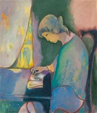 leggere sulla finestra by heinrich steiner