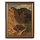 landscape by julius wentscher