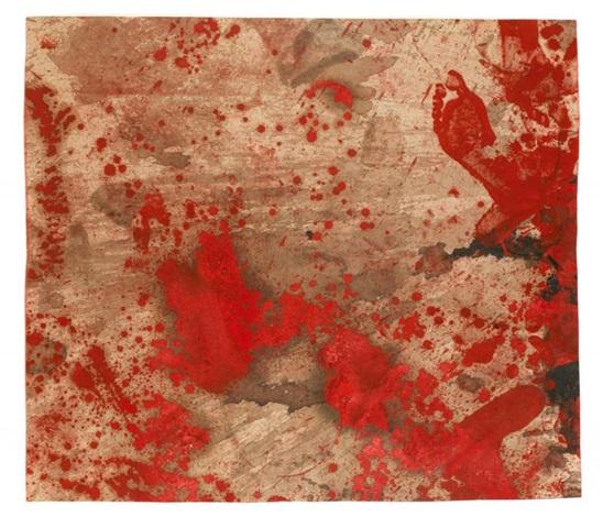 sans titre (vienna secession) by hermann nitsch