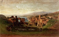 the ruins of pompeii by otto geleng