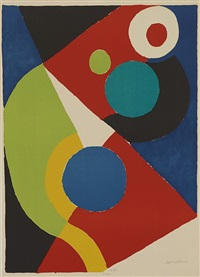 composition abstraites by sonia delaunay-terk