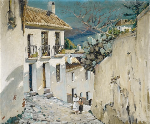 village spain by anthony thieme