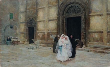 prima comunione nella cattedrale di madrid by ángel andrade blázquez
