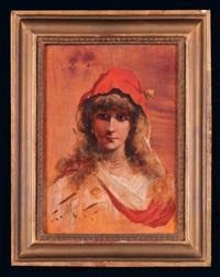 portret żony by stanislaw tomkiewicz