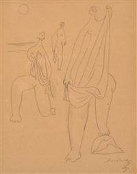 les femmes drapées by léopold survage