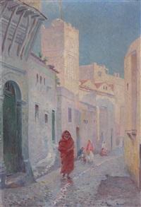 rue sidi ramdan, alger sidi ramdan street, algiers by gustave lemaitre