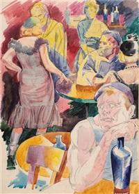 le cabaret by israil lvovitch lizak